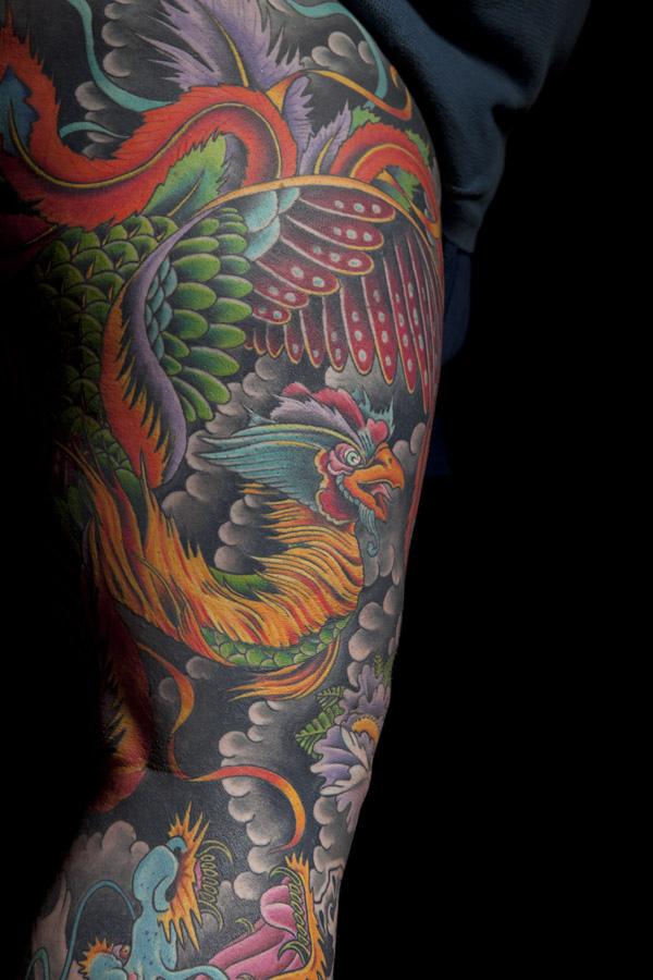 Dragon Back Piece Tattoo Designs